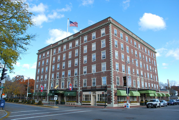The historically beautiful Hawthorne Hotel