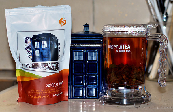 Tardis Tea for a Tardis mug!