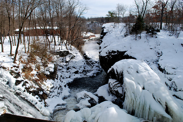 Indian Leap during a frozen January in 2011.