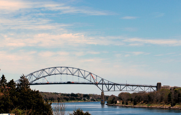 The Sagamore Bridge over the Cape Cod Canal