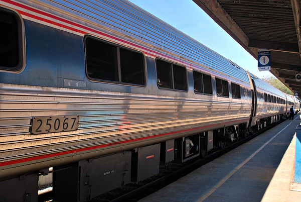 Amtrak Passenger Car