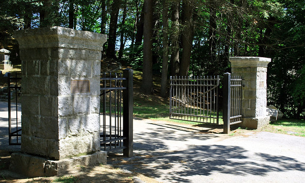 The Gates to Sleepy Hollow Cemetery