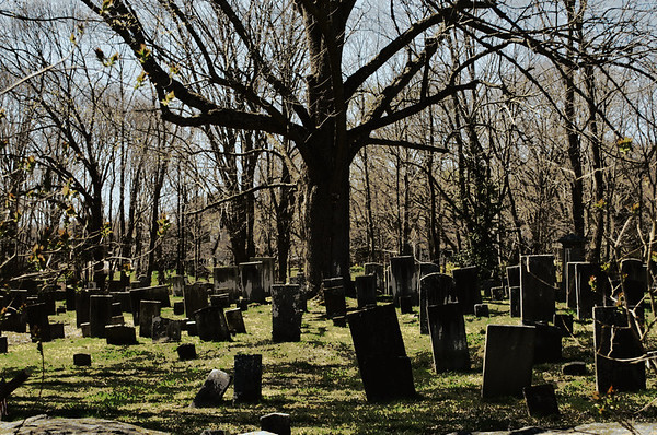 Part of the Colonial Cemetery also known as The Old Burying Ground