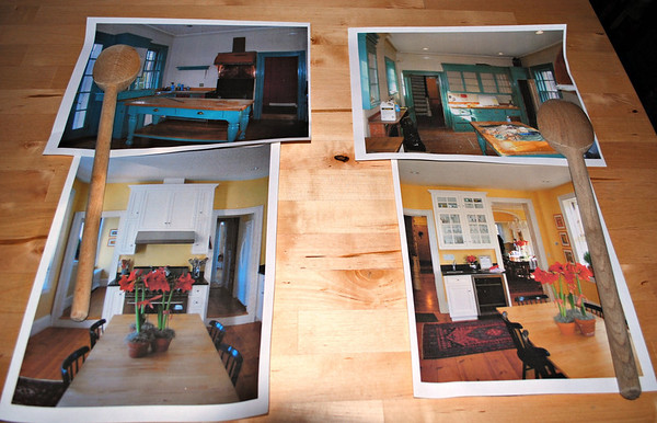 Before and After Photos of the Kitchen