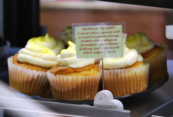 Tropical Delight Cupcakes