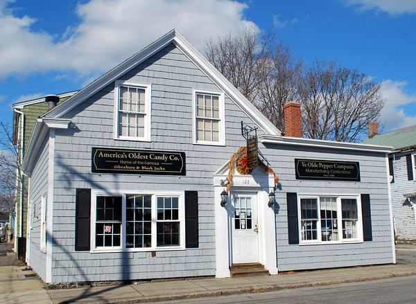 Ye Olde Pepper Companie at 122 Derby Street, Salem, Massachusetts