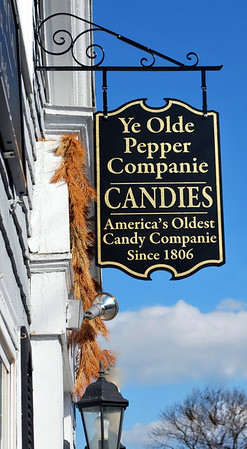 Sign for Ye Olde Pepper Companie