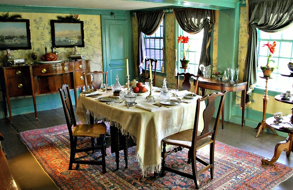 The Dining Room at the House of the Seven Gables