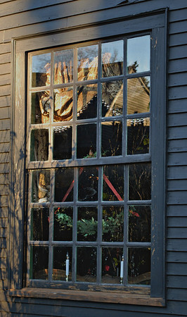 Window at The House of the Seven Gables