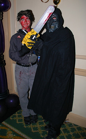 Ash and a Candarian Demon from Evil Dead 2