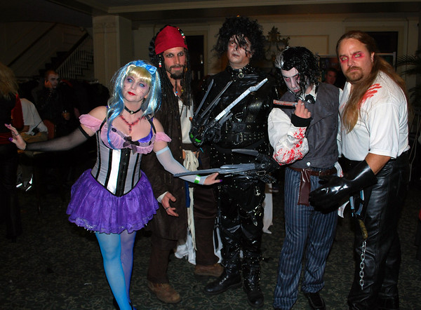Some of the First Place Costume Contest Winners