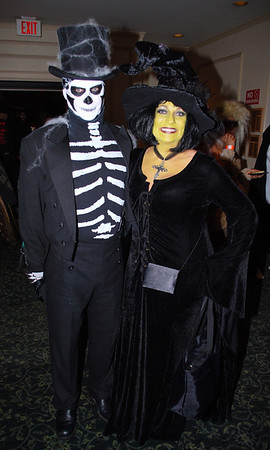 A Skeleton and a Witch