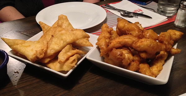 Crab Rangoons and Chicken Fingers