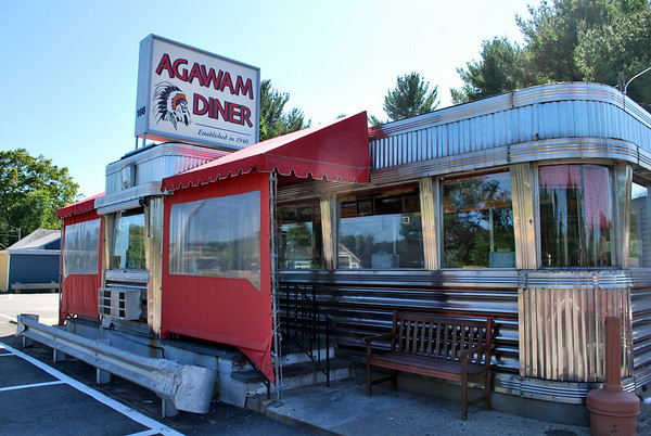 The Landmark Agawam Diner in Ispwich, Massachusetts
