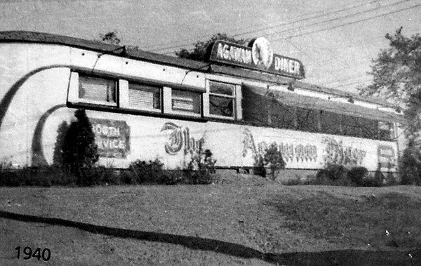 1940 Image from the Agawam Diner Menu