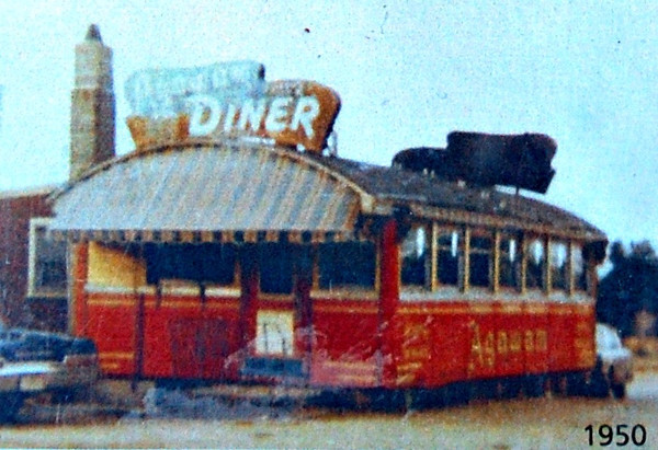 1950 Image from the Agawam Diner Menu