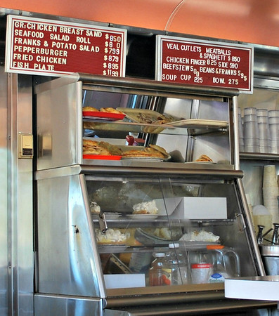 One of the Two Pie Cases at the Agawam Diner