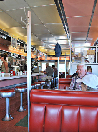 Interior Shot of the Agawam Diner