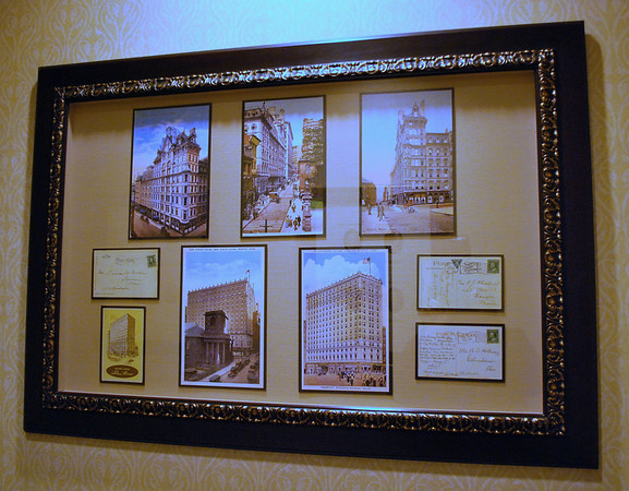 Vintage postcards of the Omni Parker House