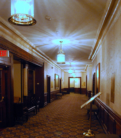 The Mezzanine-Level Hallway
