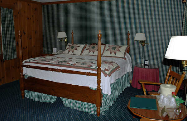 King-size room #116 at the Brookside Motel