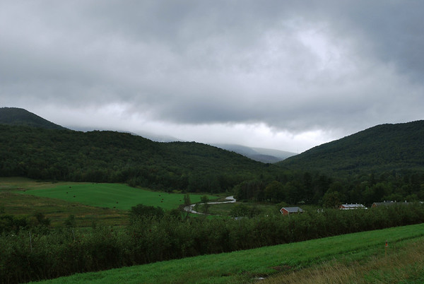 A cloudy day in Williamstown, Massachusetts