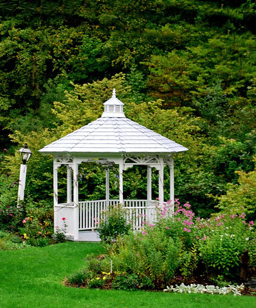 Gazebo at the 1896 House