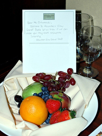 A Welcoming Fruit Platter