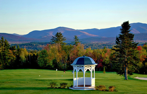 The Gazebo and the Golf Course