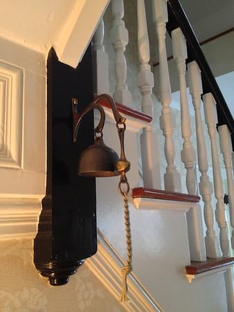 Bell in the foyer