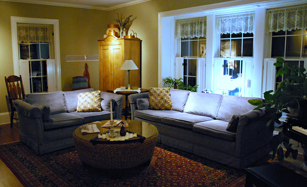 Main Living Room at Peacock House
