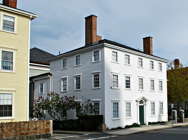 1804 Captain Elias Davis House, part of the Cape Ann Museum in Gloucester.