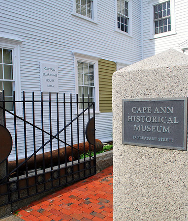Entrance to the Cape Ann Museum