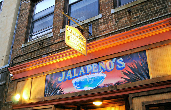 Jalapeno's Gloucester's authentic Mexican Restaurant, established in 1992.