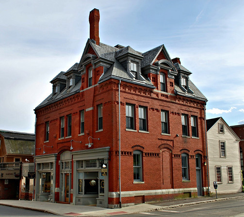 R. Michael Wall's American Marine Model Gallery at 20 Pleasant Street in Gloucester