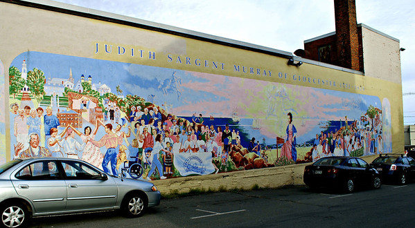 Judith Sargent Murray Mural of Gloucester