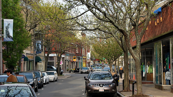 Downtown Gloucester, Massachusetts