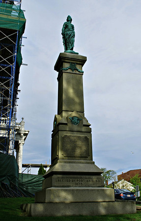 Grand Army of the Republic Monument outside of Gloucester City Hall