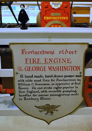 The George Washington - Provincetown's Oldest Fire Engine