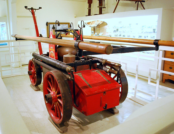 Provincetown's first hand pumper built by an apprentice of Paul Revere