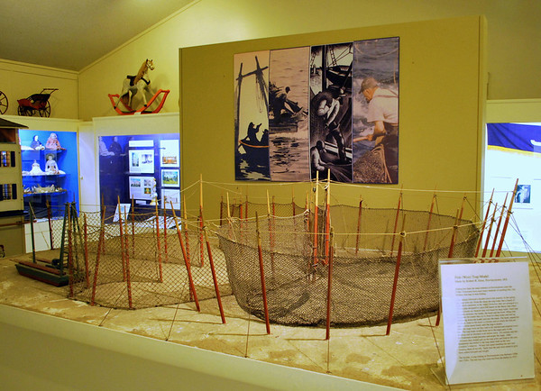 An exhibit about the fishing history of Provincetown.