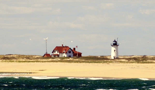 A slightly closer look at Race Point Light