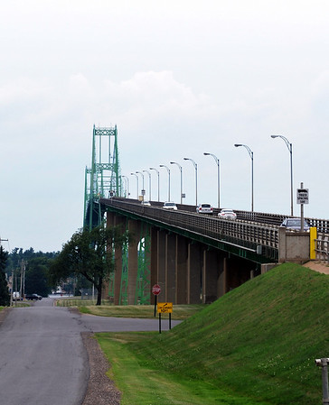 Thousand Islands Bridge over the Saint Lawrence River