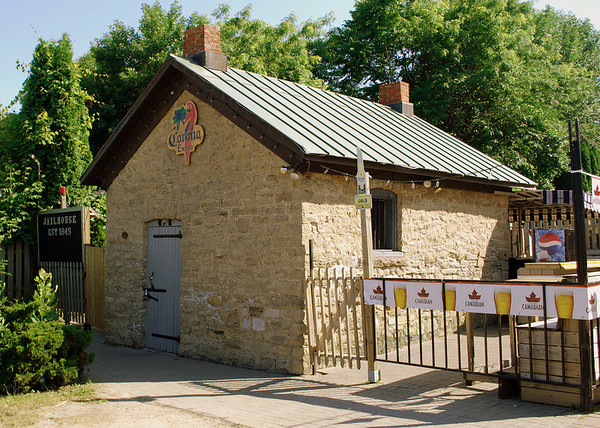 Port Dalhousie's former small jail house built in 1845 now turned watering hole!