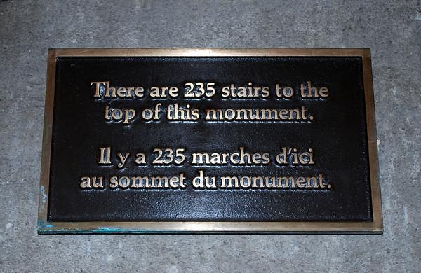 235 Stairs That I Didn't Climb!