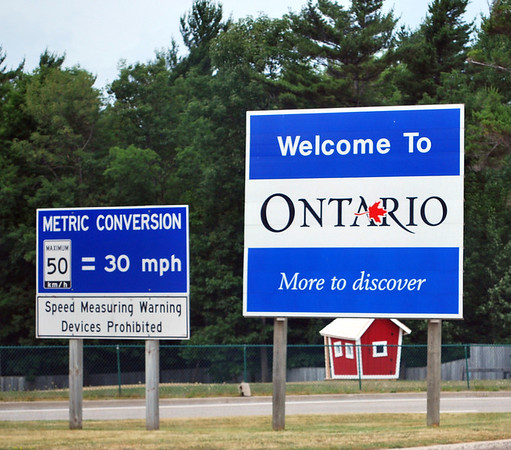 Welcome to Ontario, Canada!
