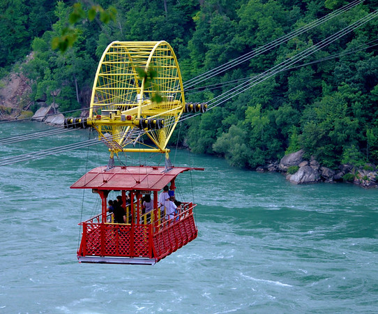 The Niagara Whirlpool Aero Car