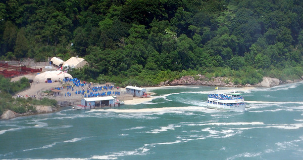 Docking area for the Canadian Maid of the Mist