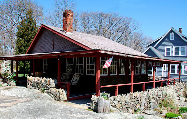 The Paper House in Rockport, Massachusetts