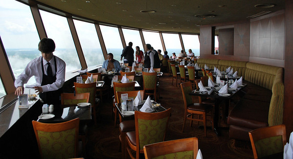 The Buffet Dining Area of Skylon Tower